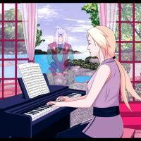 Hra na piáno
