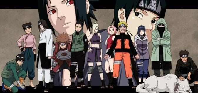 Hlavní postavy seriálu Naruto